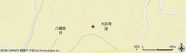 山口県萩市大井(大井市場)周辺の地図
