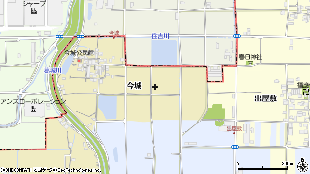 〒639-2207 奈良県御所市今城の地図