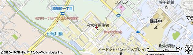 府営今福住宅周辺の地図