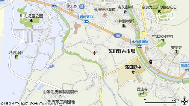 〒633-2226 奈良県宇陀市菟田野古市場の地図