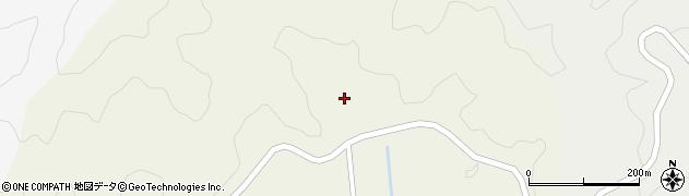 山口県萩市吉部上(菅谷)周辺の地図