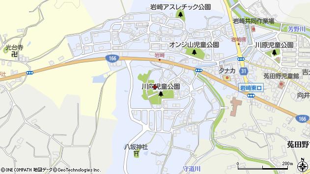 〒633-2227 奈良県宇陀市菟田野岩崎の地図