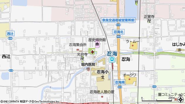 〒639-2123 奈良県葛城市忍海の地図
