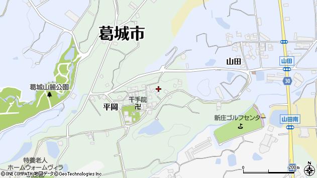〒639-2136 奈良県葛城市平岡の地図