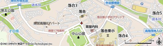 広島県広島市安佐北区落合周辺の地図