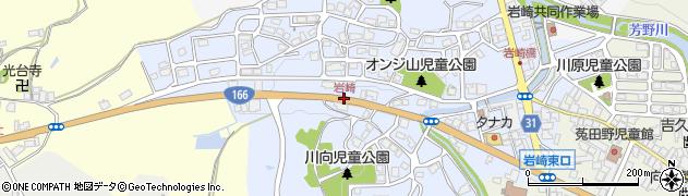 岩崎周辺の地図