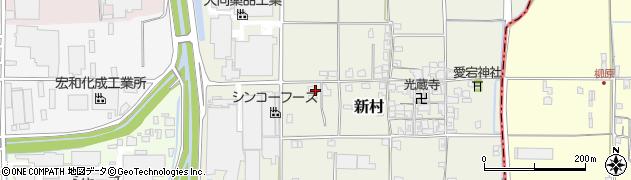 奈良県葛城市新村346周辺の地図