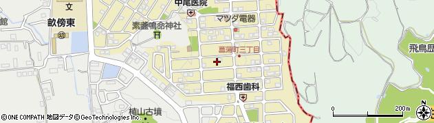 奈良県橿原市菖蒲町周辺の地図