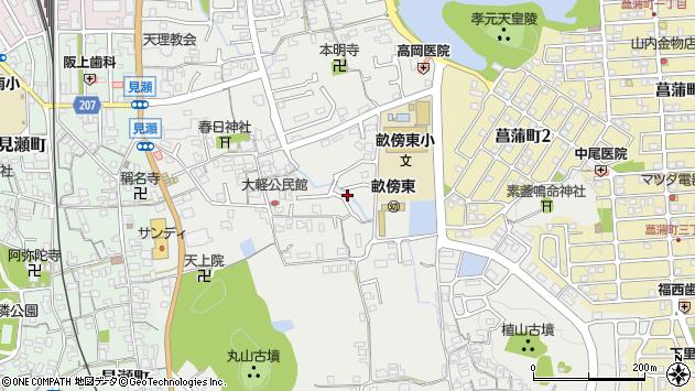 〒634-0044 奈良県橿原市大軽町の地図