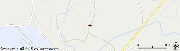 山口県萩市高佐上(岸高)周辺の地図