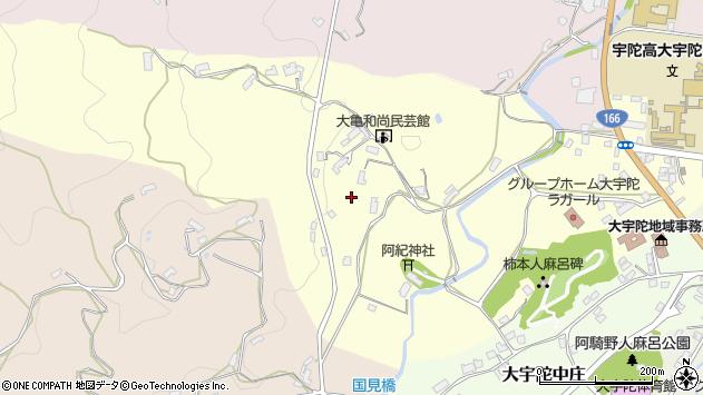 〒633-2166 奈良県宇陀市大宇陀迫間の地図
