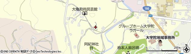 天益寺周辺の地図