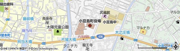 香川県小豆島町(小豆郡)周辺の地図
