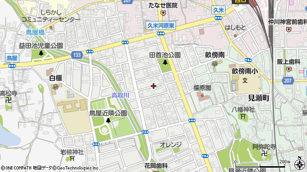 〒634-0051 奈良県橿原市白橿町の地図
