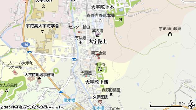〒633-2175 奈良県宇陀市大宇陀中新の地図