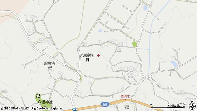 〒633-2126 奈良県宇陀市大宇陀岩清水の地図