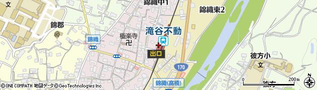 大阪府富田林市周辺の地図