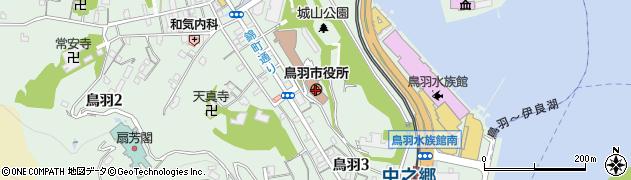 三重県鳥羽市周辺の地図