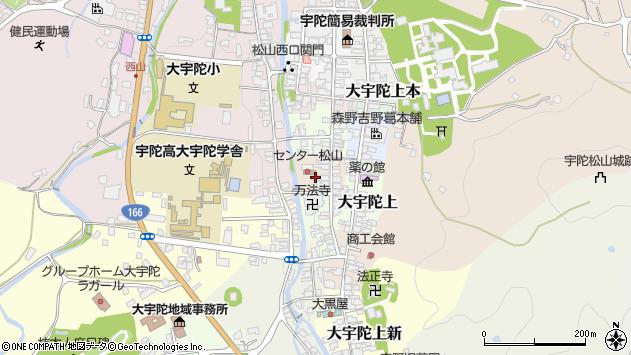 〒633-2177 奈良県宇陀市大宇陀下出口の地図