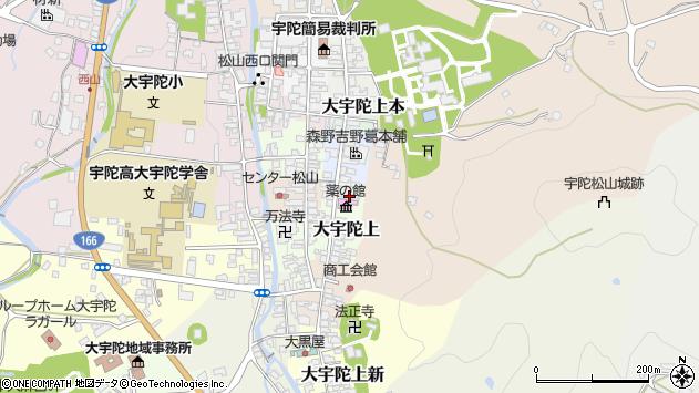 〒633-2174 奈良県宇陀市大宇陀上の地図