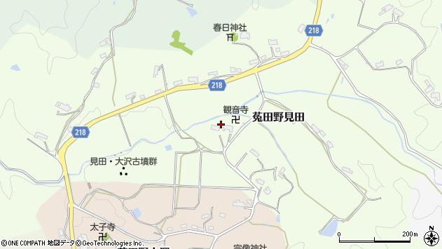 〒633-2203 奈良県宇陀市菟田野見田の地図