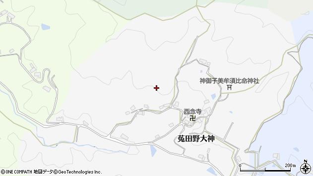 〒633-2202 奈良県宇陀市菟田野大神の地図