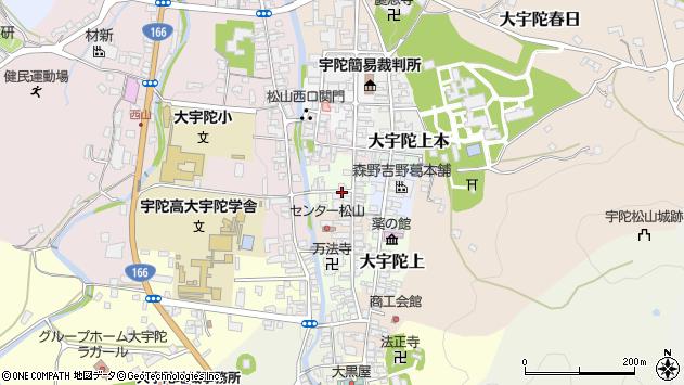 〒633-2178 奈良県宇陀市大宇陀下中の地図