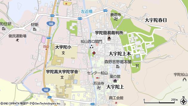 〒633-2179 奈良県宇陀市大宇陀下本の地図