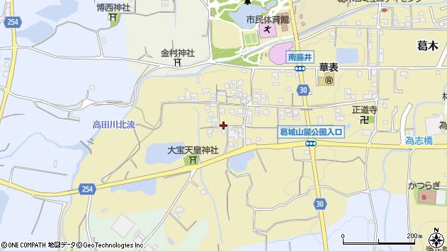 〒639-2137 奈良県葛城市南藤井の地図