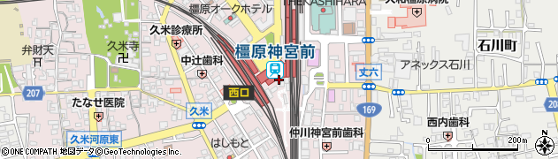うめもり橿原 神宮前店周辺の地図