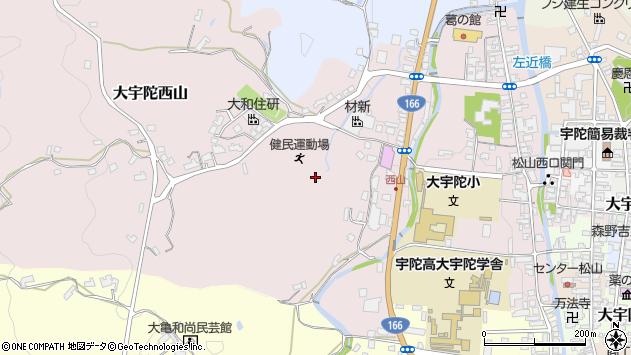 〒633-2115 奈良県宇陀市大宇陀西山の地図