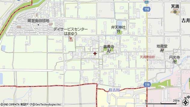 〒635-0052 奈良県大和高田市奥田の地図