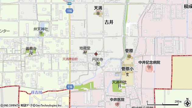 〒635-0059 奈良県大和高田市吉井の地図
