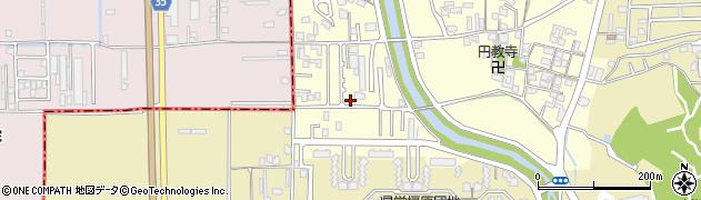 奈良県橿原市光陽町周辺の地図