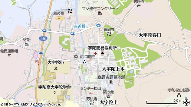 〒633-2170 奈良県宇陀市大宇陀下茶の地図