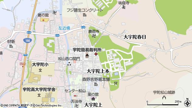 〒633-2171 奈良県宇陀市大宇陀上茶の地図