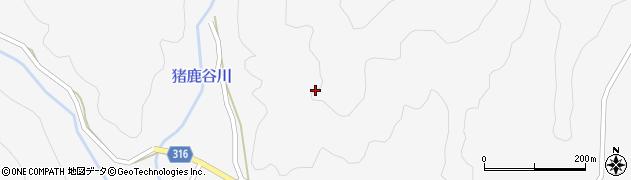山口県萩市紫福(小西見)周辺の地図