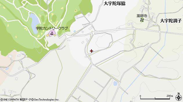 〒633-2121 奈良県宇陀市大宇陀塚脇の地図