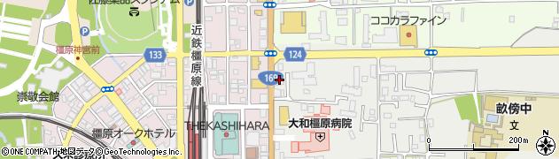 朋友橿原マンション周辺の地図