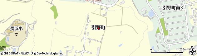 広島県福山市引野町周辺の地図