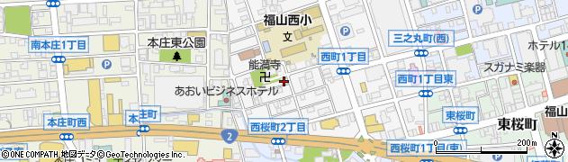 能満寺周辺の地図