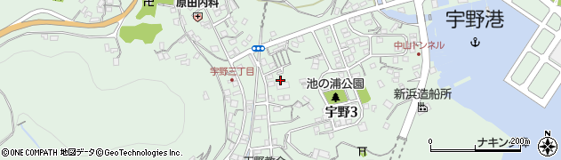 藤井荘周辺の地図