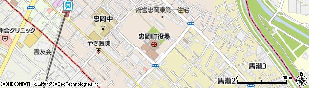 大阪府泉北郡忠岡町周辺の地図