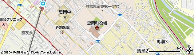 大阪府忠岡町(泉北郡)周辺の地図