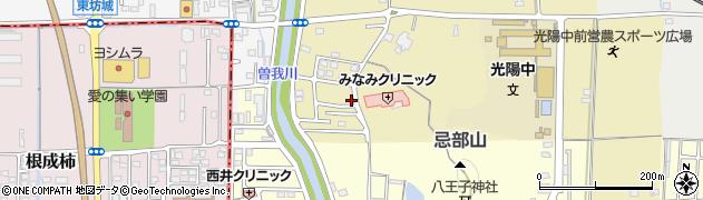 奈良県橿原市古川町周辺の地図