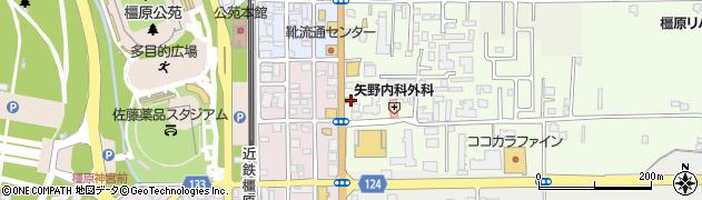 奈良県橿原市栄和町35周辺の地図