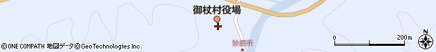 奈良県宇陀郡御杖村周辺の地図