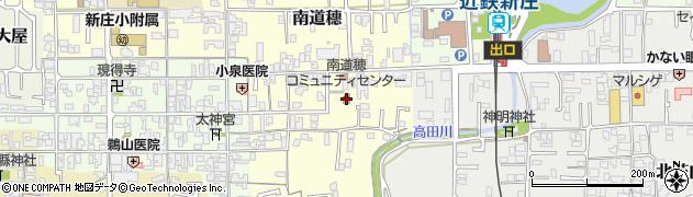 南道穂コミュニティセンター周辺の地図
