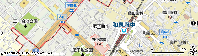 善法寺周辺の地図
