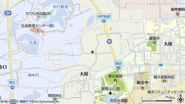 〒639-2145 奈良県葛城市大屋の地図